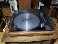 Vintage Wood grain Pioneer PL-25 Turntable - Very nice