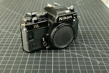 Nikon Fa 35mm Slr Film Camera Body Only tested working