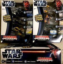 Star Wars™ MICRO MACHINES Die Cast Metal TITANIUM SERIES Galoob STORE EXCLUSIVES