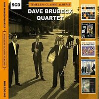 DAVE BRUBECK Timeless Classic 5 Albums  5CD NEW Best of Greatest Gift Idea ever