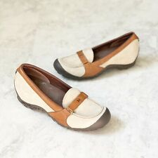 Merrell Womens Shoes 8.5 Plaza Glide Taupe Brown Sneakers Wedges Loafers Comfort