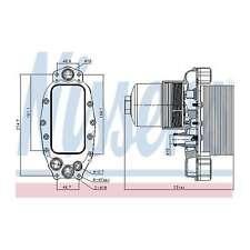 Fits Jaguar XF Sportbrake 3.0 D Genuine OE Quality Nissens Gearbox Oil Cooler