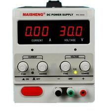 MS305D Digital DC Power Supply 30V 5A 50Hz 90W Precision Variable Adjustable Lab