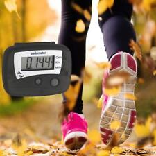 LCD Digital Walking Pedometer Step Distance Calorie Counter Fitness Belt Clip CH