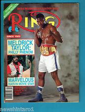 #Aa. The Ring Boxing Magazine, January 1989