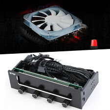 5.25inch Panel Fan Speed Temperature Controller Governor PC Hardware Protector Z