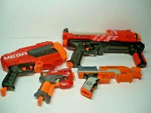 Set of 4 Nerf Guns Nerf Rival XVII-3000, Zombie Strike and 2 More