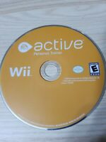 Active: Personal Trainer - Nintendo Wii - Disc Only - Tested - Fast Free Ship!