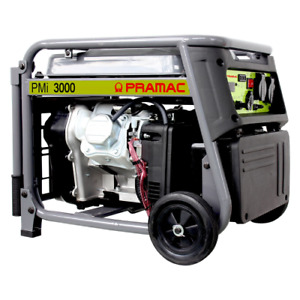 Pramac PMI 3000 Watt 113 cc electric current generator. Petrol engine inverter