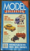 Model Collector   December 1989 January 1990 Britains Tri-ang minic dinky