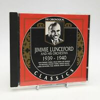 JIMMIE LUNCEFORD AND HIS ORCHESTRA 1939-1940 Rare The Chronogical CD Album VGC