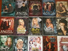 Angel & Buffy The Vampire Slayer Trading Card Base Sets: