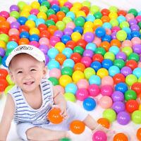 50pcs Colorful Soft Ocean Ball Secure Baby Kids Boy Girl Pit Toy Swim Fun Play