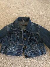 Zara Girl short jeans jacket (2-3 years old)