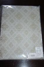 natural authentic vintage flex lithuanian 54%cotton/46%linen tablecloth