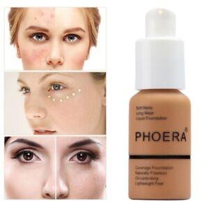 PHOERA® FOUNDATIOON CONCEALER FULL Coverage Makeup Matte Brighten long lasting