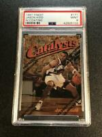 JASON KIDD 1997 TOPPS FINEST CATALYSTS #171 GOLD CARD W/ COATING MINT PSA 9 HOF