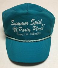 Vtg Prospect Inn Hat Summer Spiel Party Place 1991 Cap Nylon Bisbee North Dakota