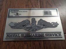 U.S Military Navy Naval Submarine Service Window Decal Sticker