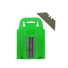 100pc Utility knife Blades Razor Blades Box Cutter Blades with Dispenser