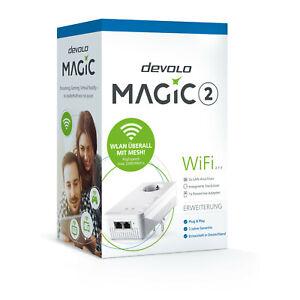 devolo Magic 2 WiFi WLAN Adapter, Einzeladapter
