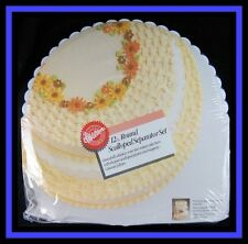 "New! Wilton **12"" ROUND SCALLOPED SEPARATOR SET**"