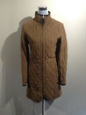 BARBOUR Cashmere Quilt Long women's jacket UK 12 US 8 EUR 38 FR 40 (pv:249€)