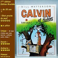 Calvin et Hobbes, 13, Enfin seuls, Watterson, HC, EO, 1996, EN, B