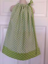 Kids Children Clothing Girls Beautiful Pillowcase Dress Handmade size 4T