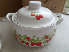 ACTION STONEWARE MICROWAVE COLLECTION CASSEROLE COVERED DISH