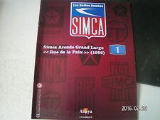 """** les belles années SIMCA n°1 """" Rue de la paix """" L'Aronde en tenue de gala"""