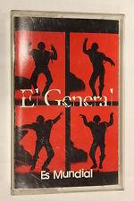 Es Mundial by El General (1994) (Audio Cassette)
