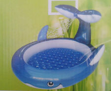 großer Spritz Pool Wal 208 x 168 cm,Schlauchanschluß, Aufblasboden , NEU , OVP