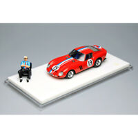 JEC 1:64 Scale Ferrari 250GTO #19 Red Racing Car Model Collection NEW IN BOX
