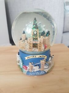 London Collectables Monuments of London Glitter Snow Globe