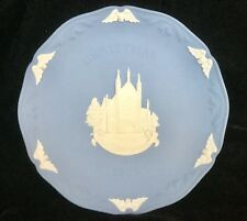 Wedgwood Collector Plate Christmas 1989 - Winchester Cathedral - New