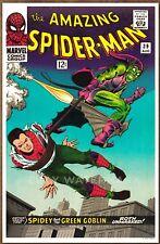 Amazing Spider Man #39 poster art print '92 John Romita Green Goblin