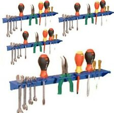 BLUE TOOL SHELF STORAGE SYSTEM TOOL TIDY FOR GARAGE SHED PACK OF 4
