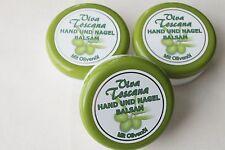(33,30€/L) Viva Toscana Hand & Nagelbalsam 3 x 200 ml Handcreme mit Olivenöl