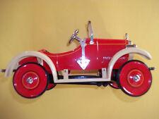 Speedster Red W/Beige Fenders 1926 Steelcraft Hallmark Kiddie Car