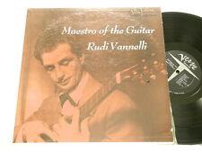 RUDI VANNELLI Maestro of the Guitar Verve MG V 2038 mono dg LP