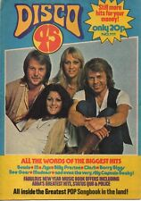 ABBA on Disco 45 Magazine Cover 1980  The Bee Gees The Pretenders Fiddler's Dram