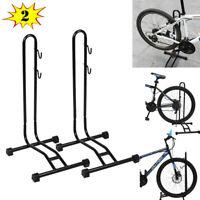 Bike Bicycle Coated Floor Stand Bike Display Rack Storage Holder Stand Pack of 2