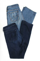 AG Adriano Goldschmied Womens Slim Straight Boot Cut Jeans Blue Size 26 Lot 2