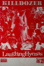 KILLDOZER / LAUGHING HYENAS TOUR POSTER / KONZERTPLAKAT