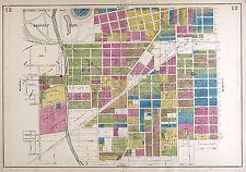 1924 Atlas Fort Wayne County plat maps Indiana Genealogy history Land Dvd P151
