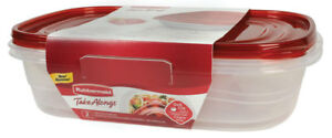 Rubbermaid  TakeAlongs  1 gal. Food Storage Container  4 pc.