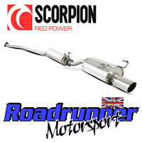 """Scorpion Civic Type R EP3 Exhaust System Cat Back Stainless Resonated 4"""" SHD005"""