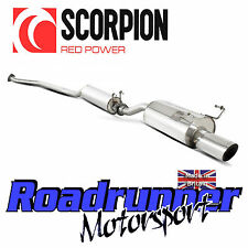 Scorpion SHD005 Civic Type R EP3 Cat Back Exhaust System Stainless Resonated 4""