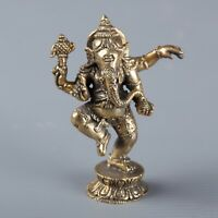 Ganesh Statua -thailand Ottone in Piedi Ganesh -remover di Ostacolo -
